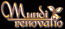 Mundi renovatio Logo